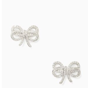 NWT❣️Kate Spade Bow Meets Girl Pave Studs
